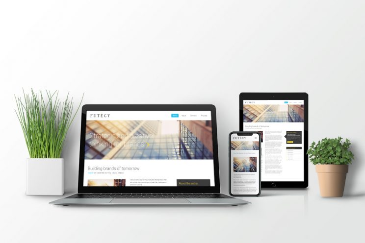 Futegy branding website design