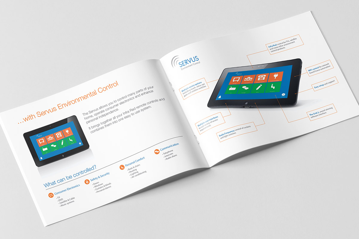 Brochure design for Smartbox
