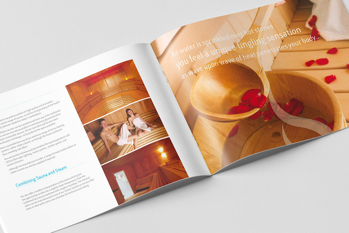 Brochure design for SteamWorks
