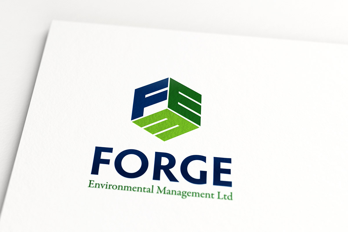 Forge Environmental logo design