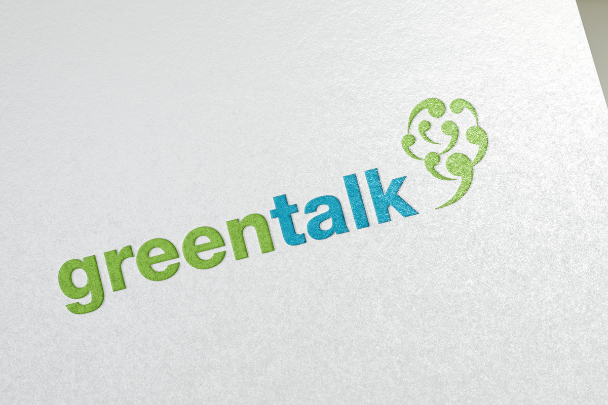 Logo design for GreenTalk