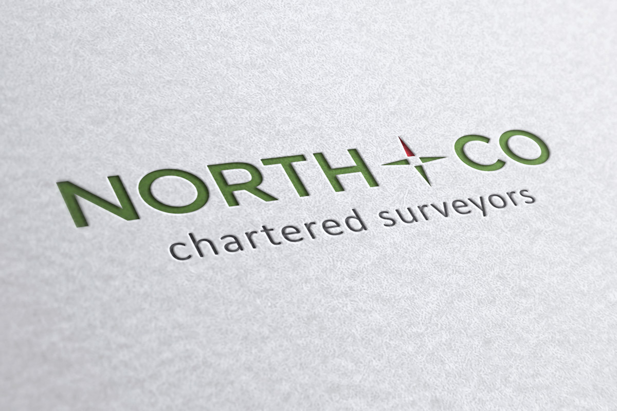 Logo design for North & Co Chartered Surveyors