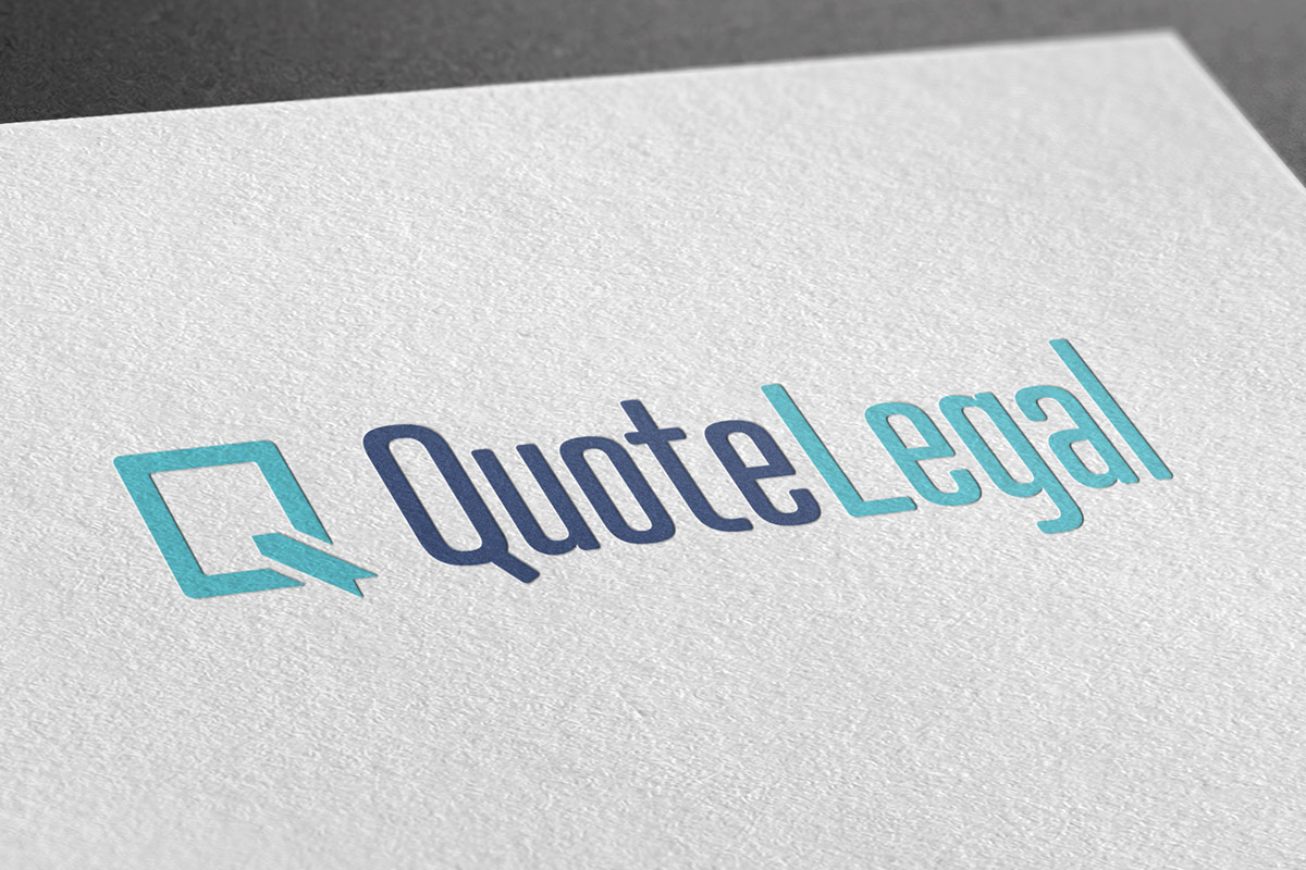 Logo design for Quote Legal