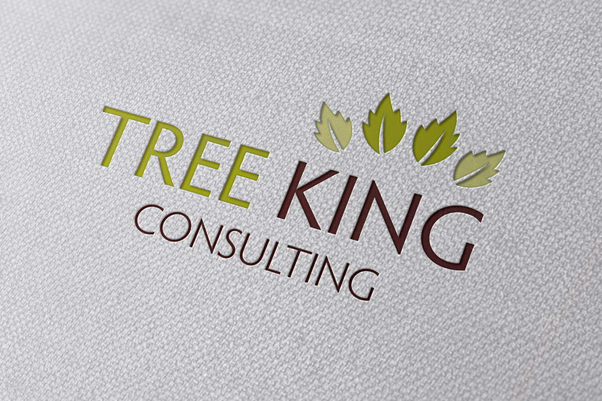 Logo design for Tree King Consulting
