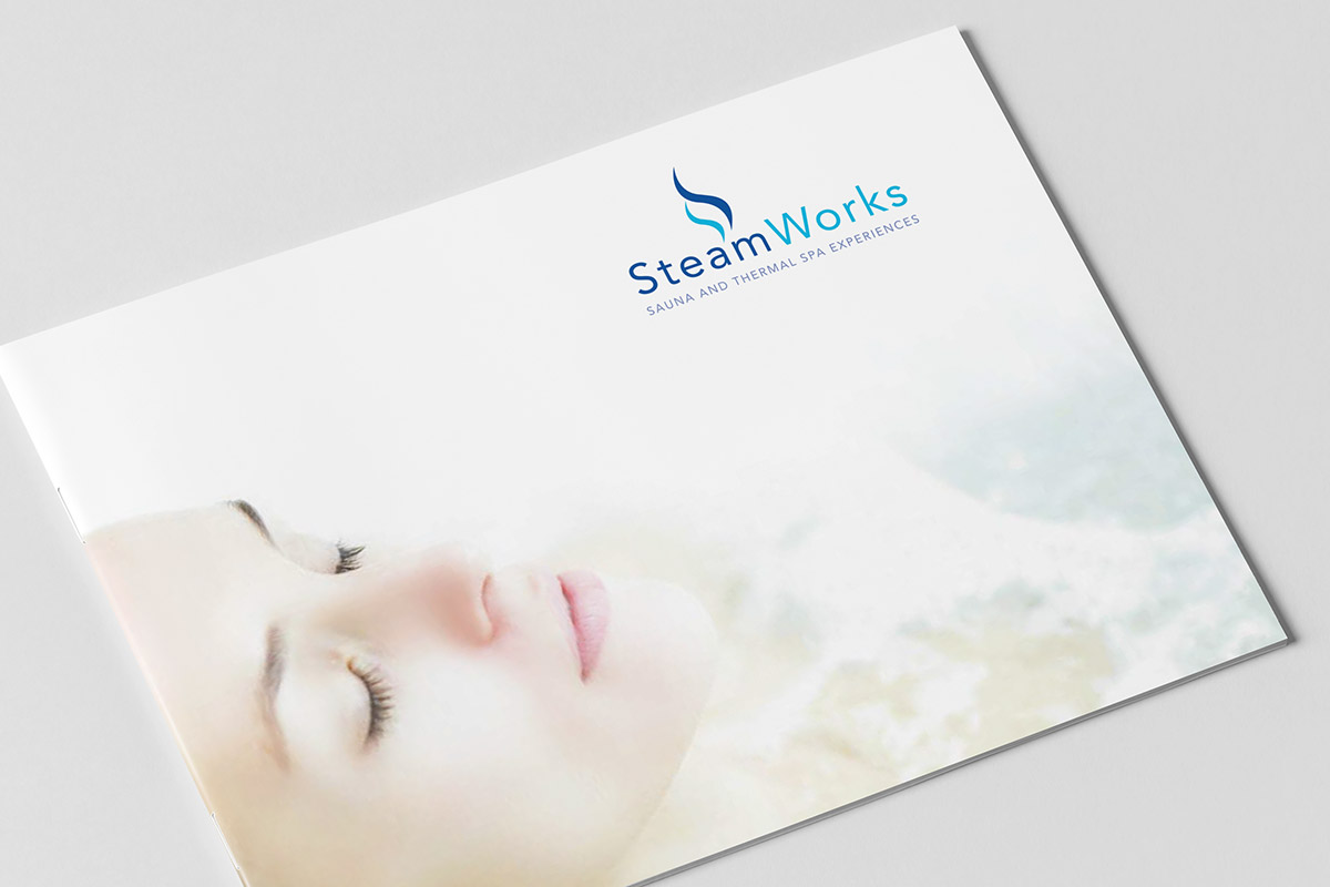 Brochure design for SteamWorks - Cover