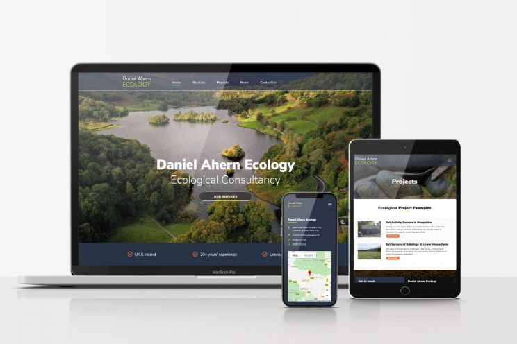 Daniel Ahern Ecology Web Design